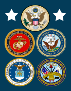 CalVet CA military seals